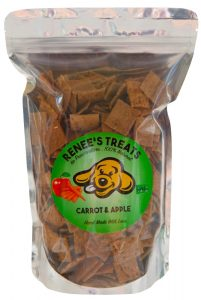 Renee's Treats with Carrot & Apple for dogs and cats