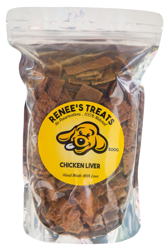 Renee's Treats with Chicken Liver for dogs and cats