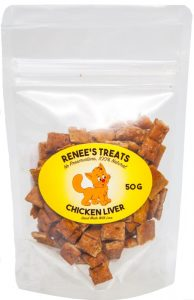 Renee's Treats with Chicken Liver for cats and kitties