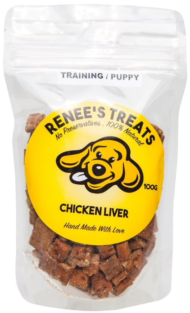Renee's Treats with Chicken Liver for puppies and training